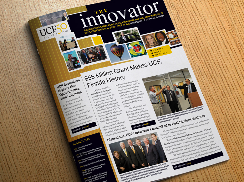 University of Central Florida Office of Research Magazine