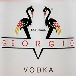 V Georgio Vodka Branding