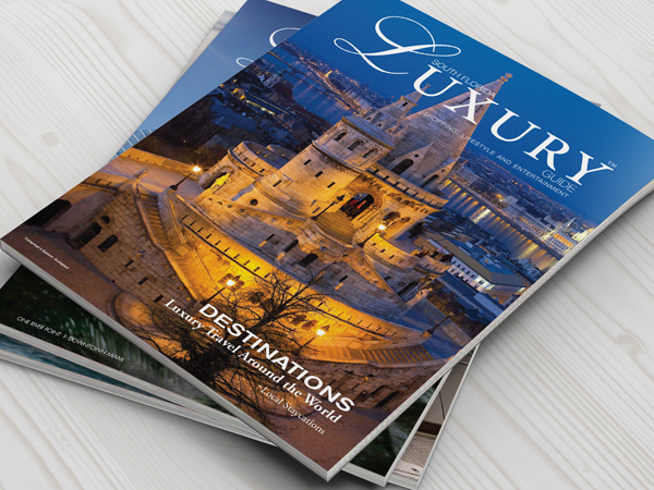 South Florida Luxury Guide Print Design